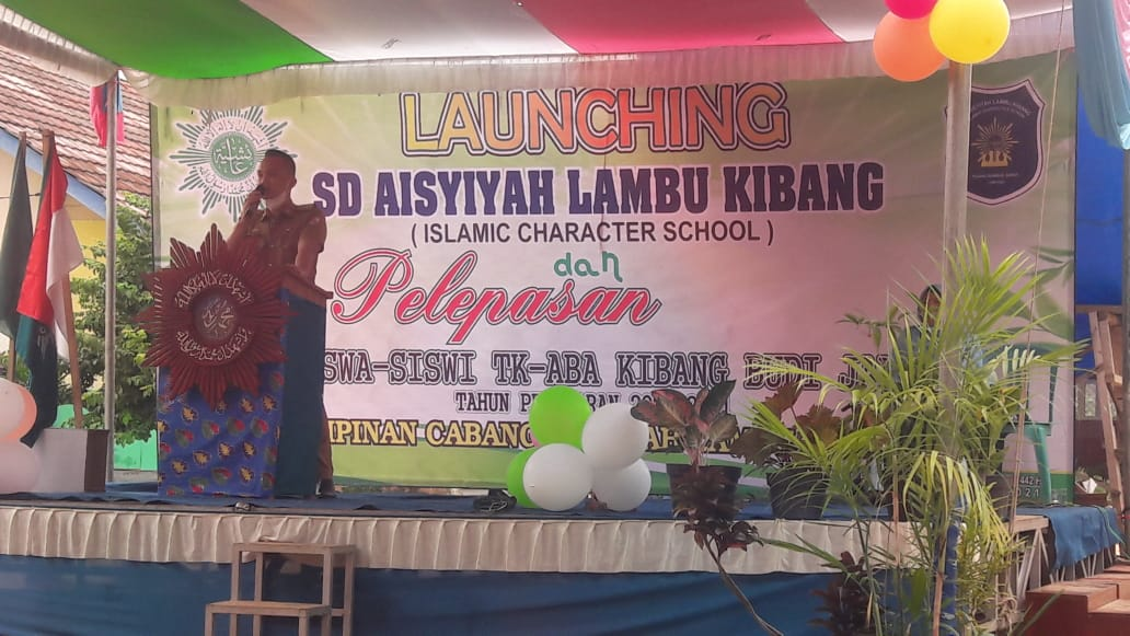 Peresmian SD Aisyiyah Lambu Kibang Tulang Bawang Barat